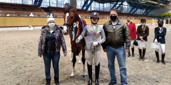 Открытые соревнования учреждения для молодых лошадей